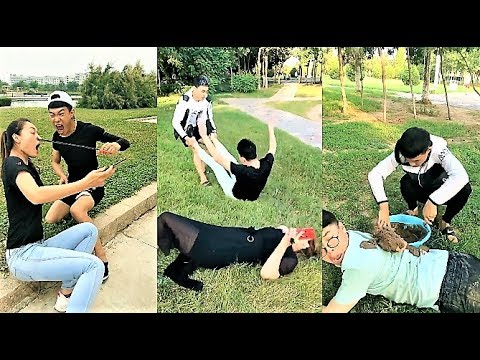 TIK TOK funny video 2018 | Pranks guy chinese compilation on app tik tok Funny Boss