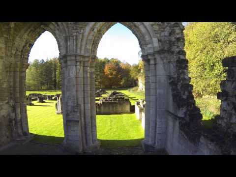 TBS Discovery Pro Quadcopter - FPV Flight around Roche Abbey - Yorkshire UK