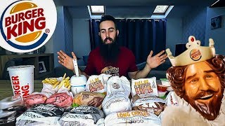 The Burger King of Kings Challenge (10,000+ Calories) | BeardMeatsFood