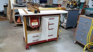 Incra Router Table Cabinet Build Part 1