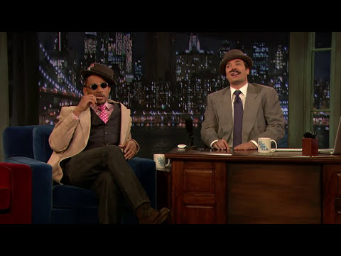 Will Smith and Jimmy Fallon's 1920s Radio Show (Late Night with Jimmy Fallon)