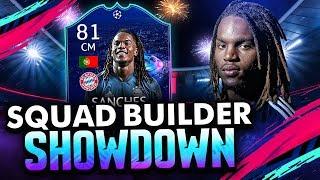 FIFA 19 SQUAD BUILDER SHOWDOWN vs AJ3 W/ UCL RENATO SANCHES! SBSD ULTIMATE TEAM