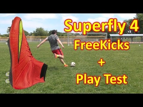 Nike Mercurial Superfly 4 Review - Freekicks + Play Test