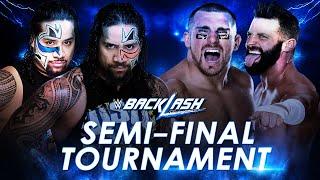 WWE Backlash 2016 - The Usos vs The Hype Bros (Semi-Final Tournament) - WWE 2K16