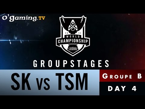 World Championship 2014 - Groupstages - Groupe B - SK vs TSM