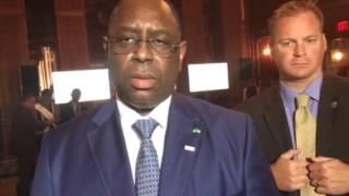 Macky Sall au Forum US Africa 2016