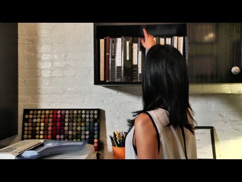 An office in an alley - tiny, eclectic, amazing spaces video