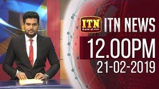 ITN News 2019-02-21 | 12.00 PM