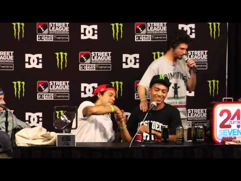 Street League 2012: Stop 3 Arizona T-Puds Press Conference Presented by Grizzly