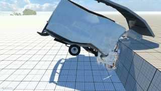 BeamNG Drive - Slow Motion Crashes Compilation No: 2 (1080p)