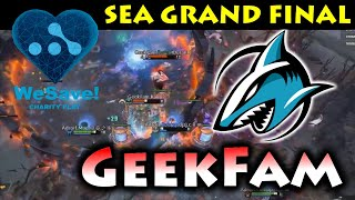 SUPER INTENSE 5 GAMES in SEA FINAL !!! GEEKFAM vs ADROIT - WeSave! Charity Play - SEA Region DOTA 2