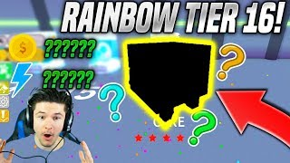 I GOT A RAINBOW TIER 16 PET IN PET SIMULATOR CYBORG UPDATE! *INSANE STATS* (Roblox)