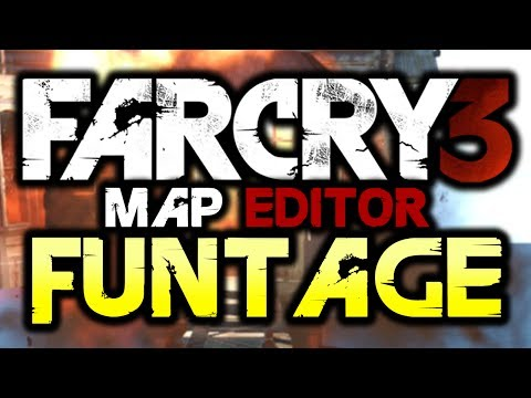 Far Cry 3: Map Editor - Funtage! - (FC3 Funny Moments)