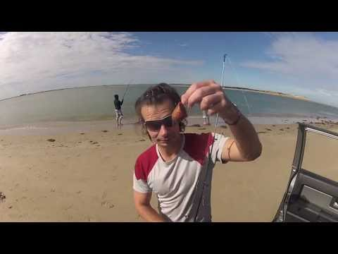 4WD and fishing trip at the Murray river mouth on GroPro HD