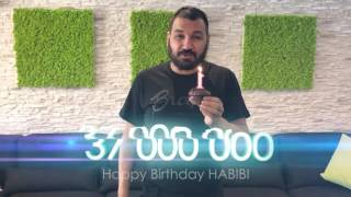 Happy birthday, HABIBI!
