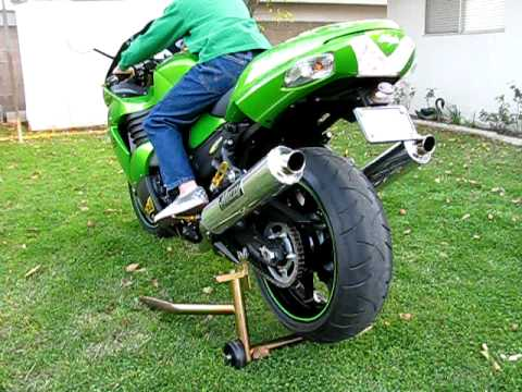 Muzzy Exhaust- 2009 Kawasaki Ninja ZX-14 Video