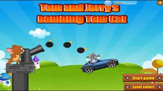 TOM AND JERRY GAMES - BOMBING TOM CAT. Fun Tom and Jerry 2019 Games. Baby Games
