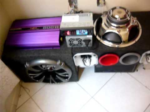 Som Automotivo Em Casa Roadstar/Pyramid/Hinor/Pioneer/PowerPack