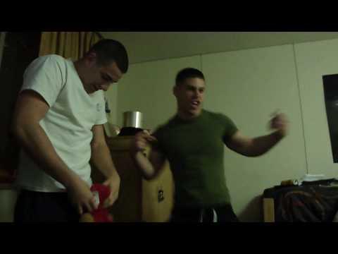 funny dance marines