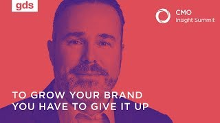 To grow your brand you have to give it up | Dwayne Chambers, CMO