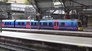 Liverpool to Blackpool and Liverpool to London by train (#22)