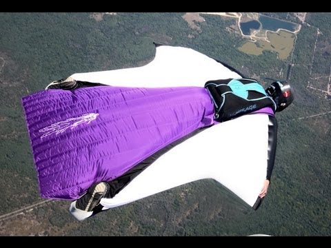 Glide Ratio - Wingsuit VS Parachute