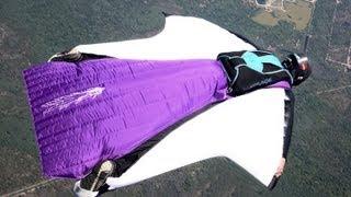 Glide Ratio - Wingsuit VS Parachute