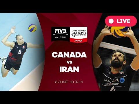 Canada v Iran - 2016 Men's World Olympic Qualification Tournament