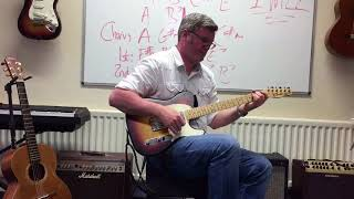 Ex's & Oh's by Elle King from Trinity Rock & Pop Grade 2 played by Brian Keenan