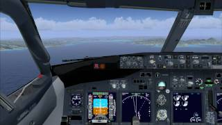 Ariane B738 Turkish Airlines Landing at TFFF -  Martinique HD Video