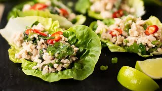 Keto Thai Chicken Larb Recipe - Light, Zesty & Easy to Make (Low-Carb Asian)