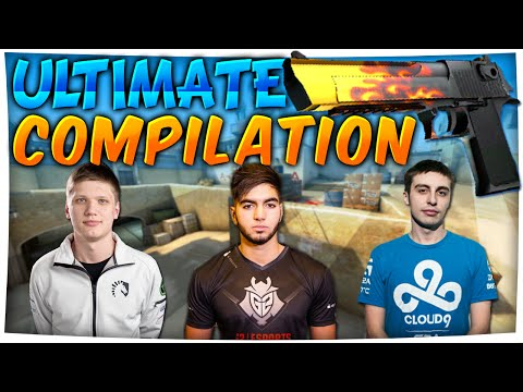 CS:GO - Ultimate PRO DEAGLE COMPILATION (Stream Highlights) ft. ScreaM, pashaBiceps & More!