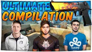 CS:GO - Ultimate PRO DEAGLE COMPILATION (Stream Highlights) ft. ScreaM, pashaBiceps & More!