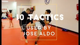 Tactics Used by Legendary MMA Fighters
