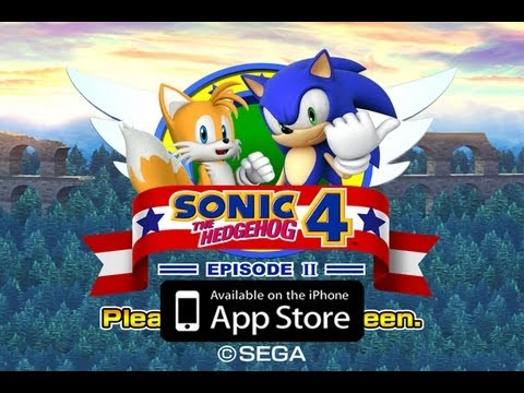 Sonic the Hedgehog 4: Episode II GAMEPLAY iPhone iPod Touch iPad