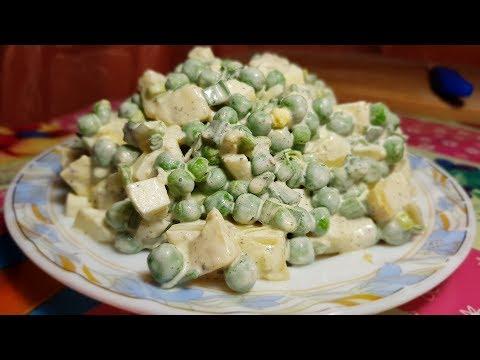 Салат на каждый день. Съедается за пару минут, готовьте побольше!!!