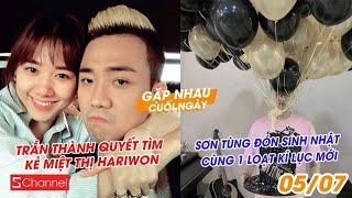 Trần Thành quyết tìm kẻ miệt thị HariWon   Sơn Tùng đón sinh nhật cùng 1 loạt kỉ lục mới - GNCN 5/7