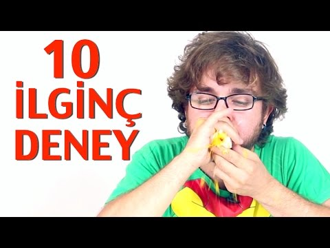 İlginç - Oha Denecek 10  Deney