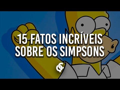 15 FATOS INCRÍVEIS QUE VOCÊS NÃO SABIA SOBRE OS SIMPSONS