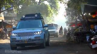 Range Rover Hybrid  From China to Mumbai