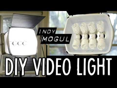 How-to: Powerful DIY video light (800 watt equivalent)