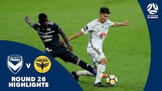 Hyundai A-League 2017/18 Round 26: Melbourne Victory 2 - 1 Wellington Phoenix
