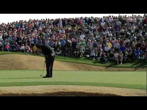 In the opening of the 2013 Waste Management Phoenix Open, Phil Mickelson's 25-foot birdie putt almost drops in for a 59 on the par-4 9th hole. Phil would fin...