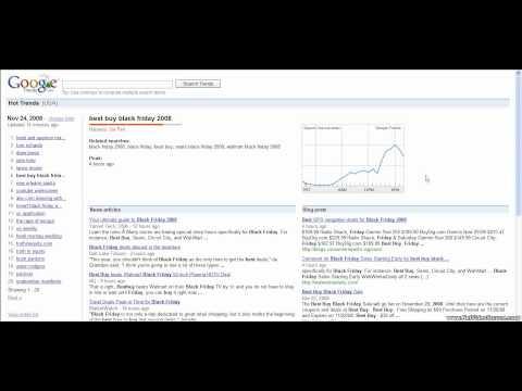 Google Hot Trends 1/7 Videos