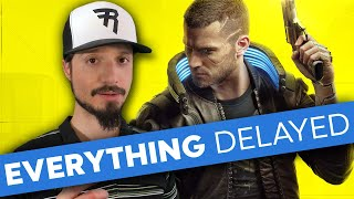 The Week of Game Delays: Cyberpunk 2077, Final Fantasy 7 remake, & more