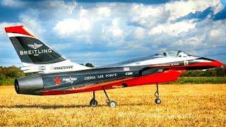 CHENGDU J-10! CARF MODELS! RC TURBINE JET AEROBATICS FLIGHT   EUROFLUGTAG RHEIDT 2018