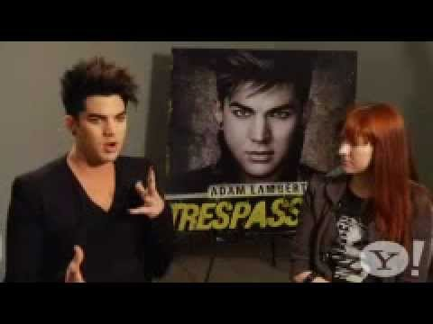Pt 1 Lyndsey Parker ADAM LAMBERT Interview About Trespassing etc 1-24-12