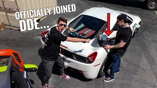 TUNED FERRARI 458 HAS A CRAZY SURPRISE...