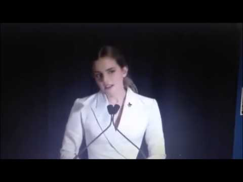 speech UN Women Goodwill Ambassador Emma Watson