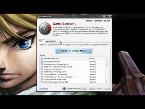 Game Booster - Freeware Review